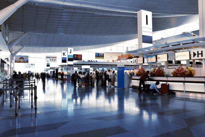羽田空港からシンガポール旅行観光へ出発!