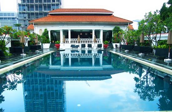 for Raffles hotel singapore swimming pool