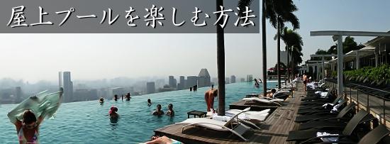 シンガポール ホテル 屋上 プール